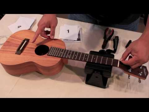 ▶ Tenor Ukulele Strings, High G or Low G?, Koolau String comparison - YouTube