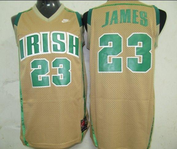 Chicago Bulls 23 James Gold Jerseys Cheaps $18.99