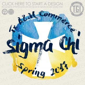 Sigma Chi | ΣΧ | Spring PR | PR | PR Shirt | PR Tee | TGI Greek | Greek Apparel | Custom Apparel | Fraternity Tee Shirts | Fraternity T-shirts | Custom T-Shirts