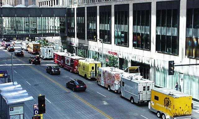 Marquette Avenue Food Trucks