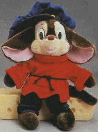 Fievel Plush From The 1980s (My Mom got me one for Christmas one year.)