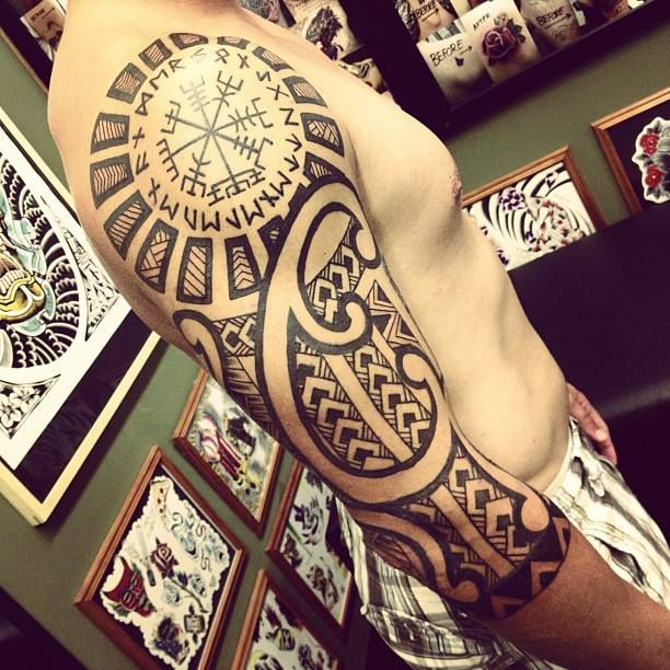 viking tribal tattoo