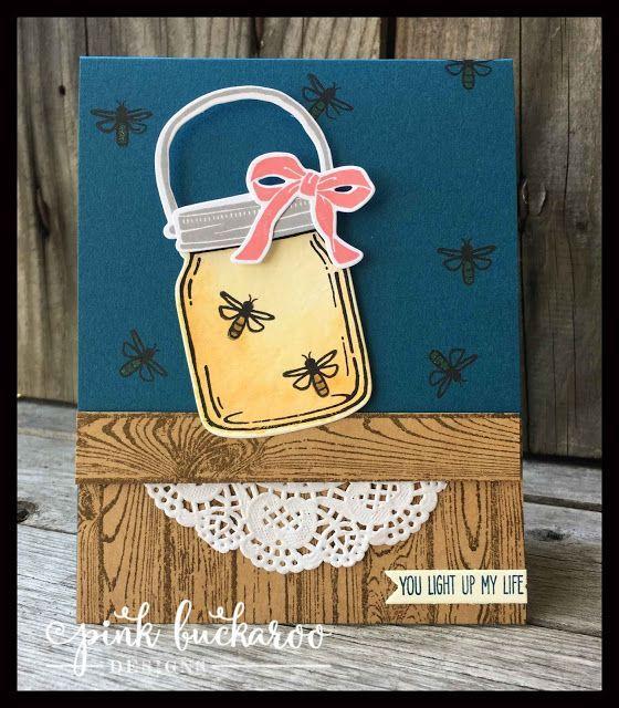 Jar of Love Firefly Card