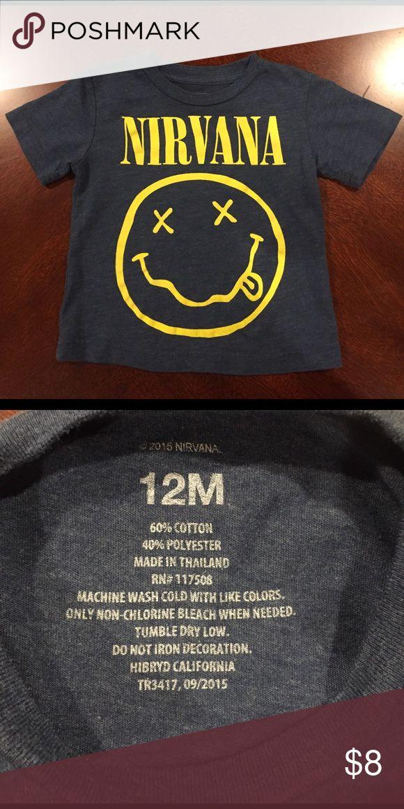 Nirvana band tee 12M Super comfortable Nirvana band tee for any cool stylin' kid Shirts & Tops Tees - Short Sleeve