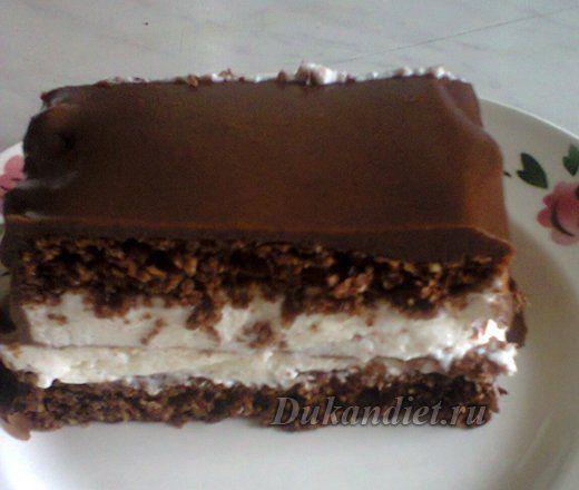 Тортик Баунти | Диета Дюкана