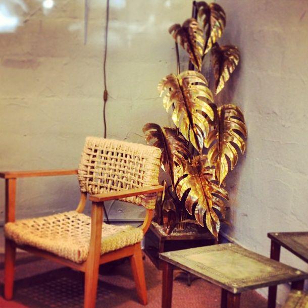 Tropical brass via Dwell Studio