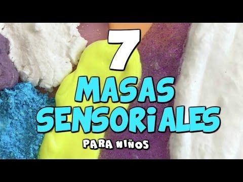 CÓMO HACER 7 MASAS SENSORIALES PARA NIÑOS | Maestros de Audición y Lenguaje