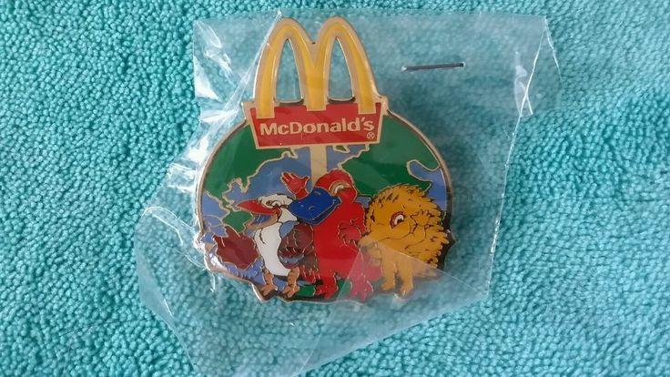 McDonalds Sydney 2000 Olympics Mille Syd Olly Mascot Pin SEALED | eBay