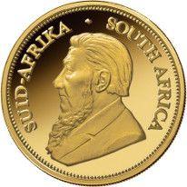 Gold Krugerrands.