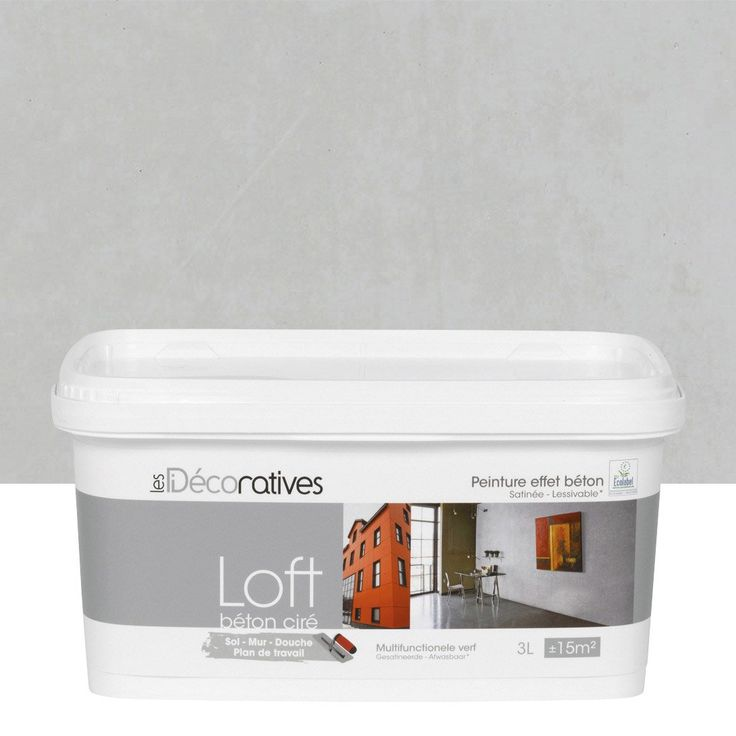 great from leroy merlin peinture effet loft bton cir les. Black Bedroom Furniture Sets. Home Design Ideas