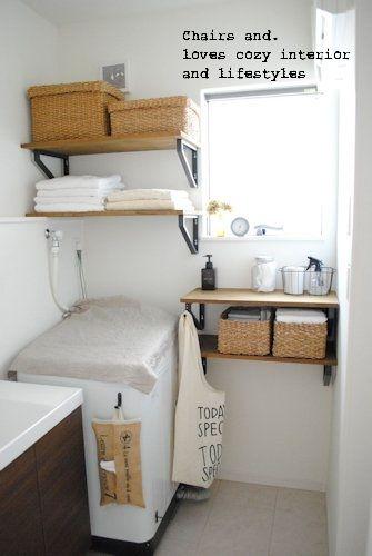 サニタリー(洗面所)と、ワンコトイレの場所|Chairs and. ナチュラルなインテリアと雑貨と手作りと、日々のこと。