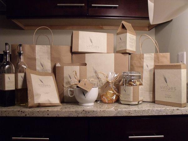 Virtues Bakery on Behance