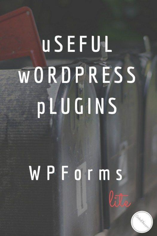 WPForms Lite Plugin