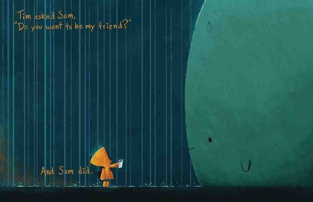 """most beautifully illustrated children's books in 2015 - """"To the Sea"""""""