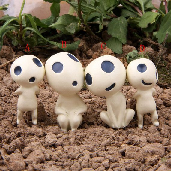 SOINLOVE.  somebody buy these for me please, and some for yourself. :) #treespirits #hayaomiyazaki