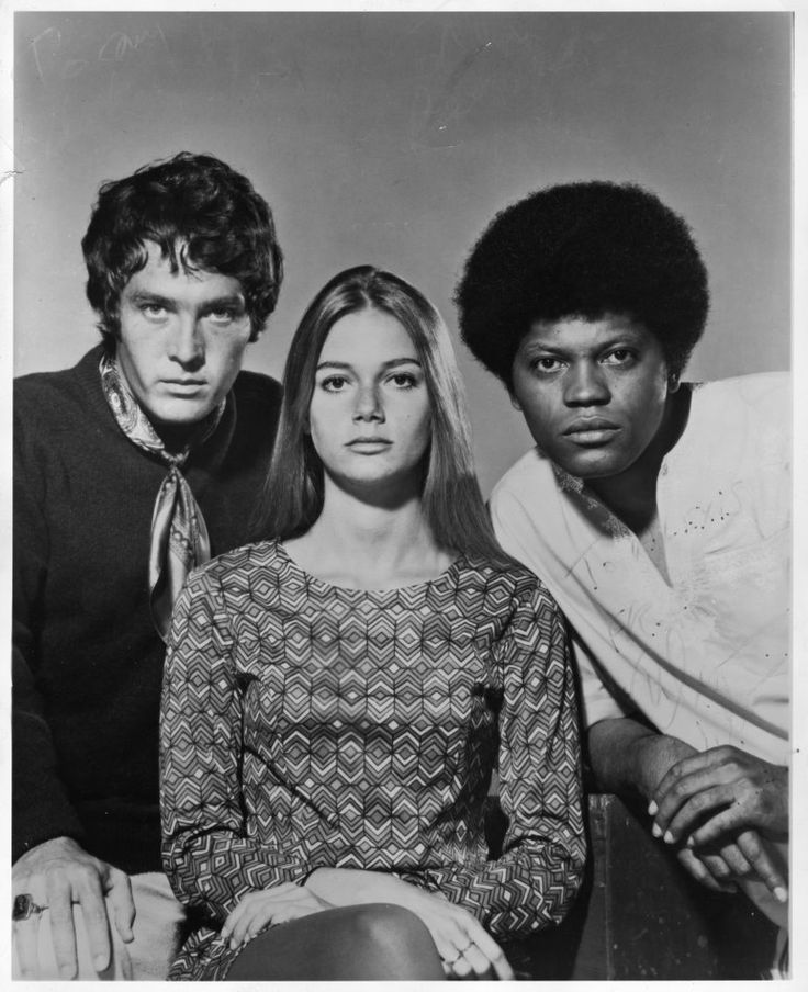 The Mod Squad...I always had a crush on Michael Cole & wanted to look like Peggy Lipton lol