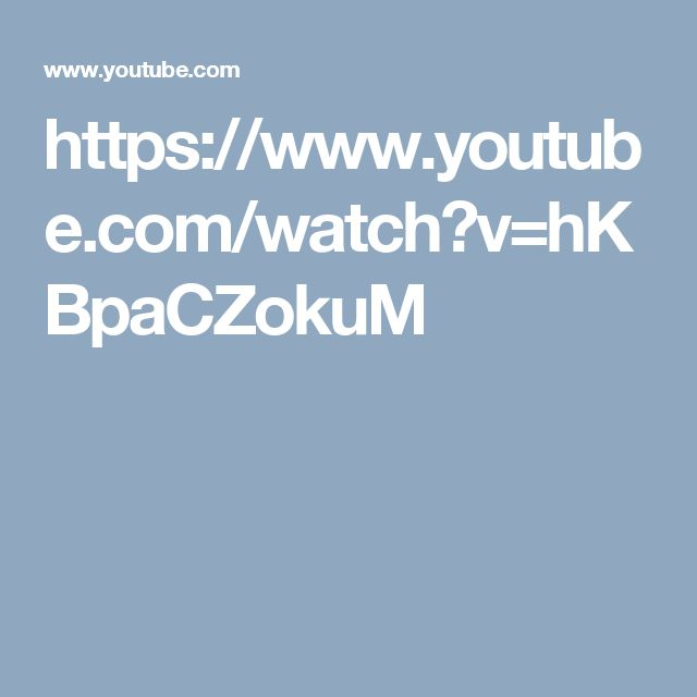 https://www.youtube.com/watch?v=hKBpaCZokuM
