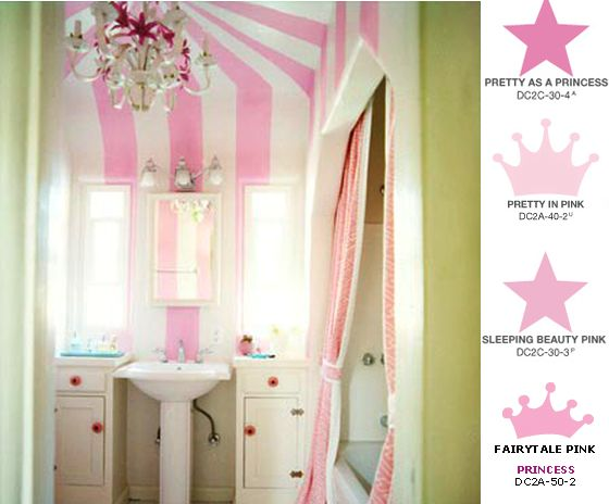 Princess Bathroom, Home Decor... Cute For Little Girls Bathroom