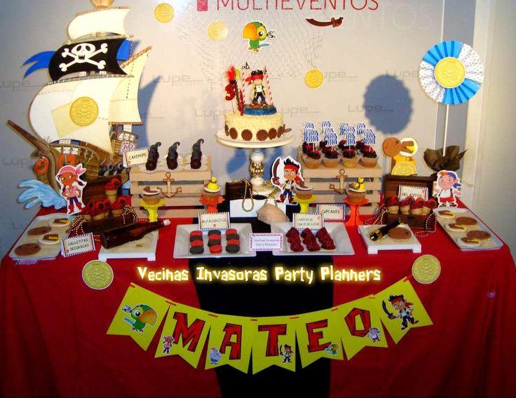 Mateo, jake and the neverland pirates Los invitamos a poner Me Gusta en nuestra Fan Page y conocer nuestras Mesas Dulces Temáticas y Decoraciones .  https://m.facebook.com/VecinasInvasoras