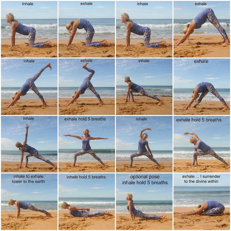 yoga sequence examples - Pesquisa Google