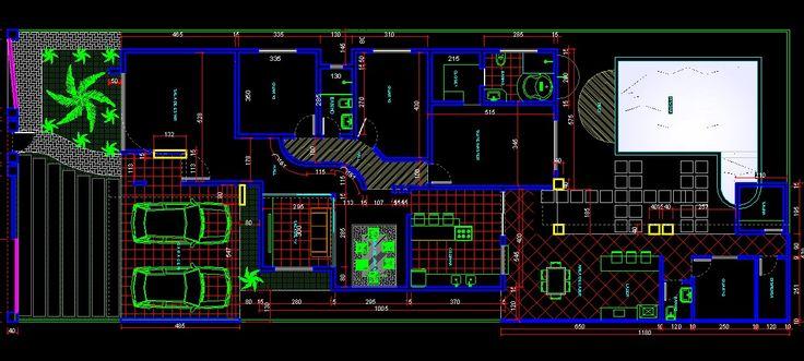 3DANILO - Maquetes Eletrônicas 3D: CASA DE 260.00m2. TERRENO 12x30 ( GUANAMBI/BA)