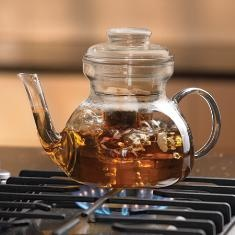 AHHHH, Our Most Popular Hostess Item, Our Princess House Crystal Teapot.