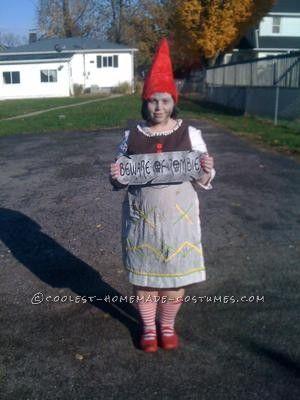 Zombie Gnome costume