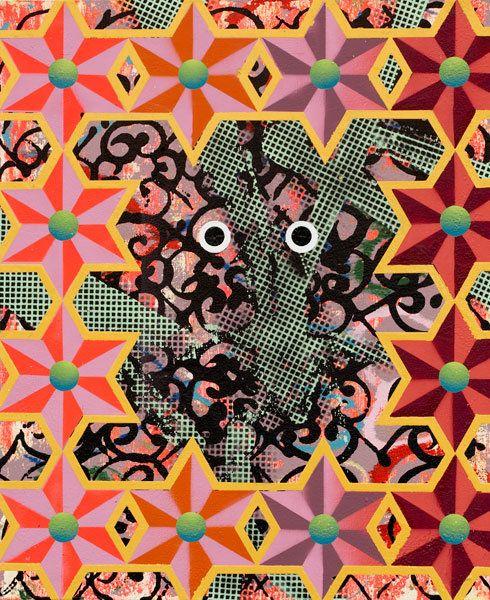 Toy, 2008, by Christine Streuli