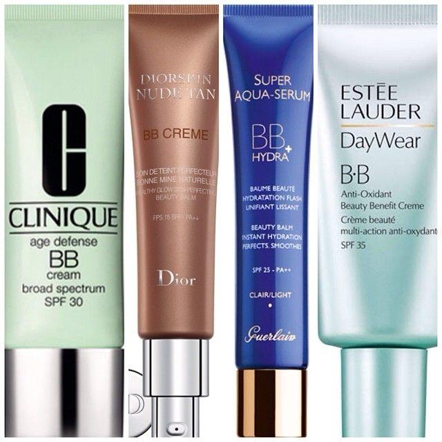 BB сочетает в себе преимущества ухода и макияжа! #Clinique #Dior #Guerlain #EsteeLauder