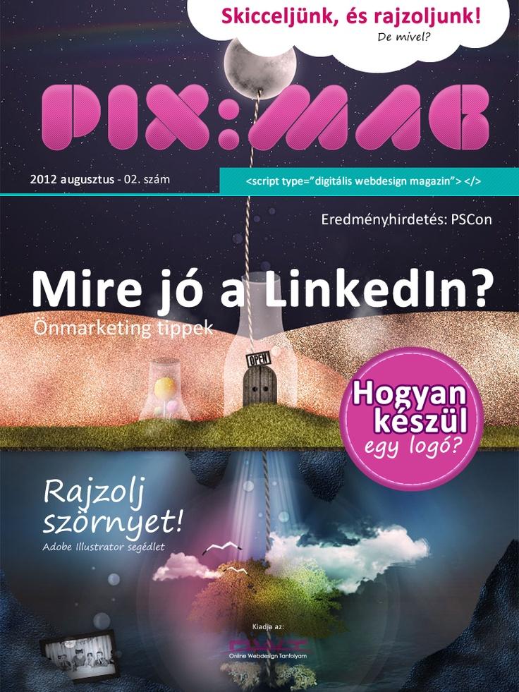 Webdesign and online trend magazine. Free. Digital. http://webdesigntanfolyam.com/itt-az-augusztusi-pixmag/