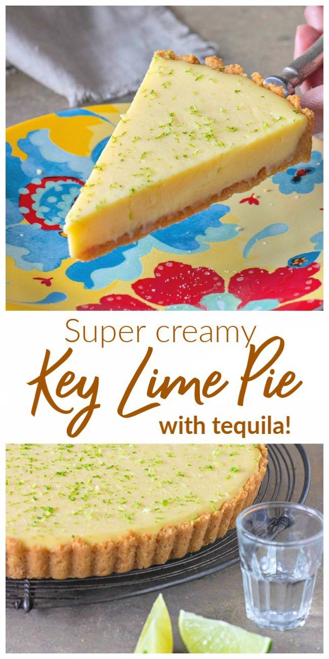 Margarita Key Lime Pie Recipe In 2020 Lime Pie Creamy Key Lime Pie Keylime Pie Recipe