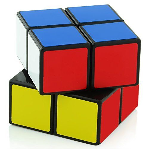 2x2 Rubik Cube: Two-Layer Two-Inch Cube - One Of The Best Brain Teasers - Fast Smooth 2x2 Magic Cube Perfect For Beginners - Hours of Fun In The Palm Of Your Hand - Satisfaction Guaranteed