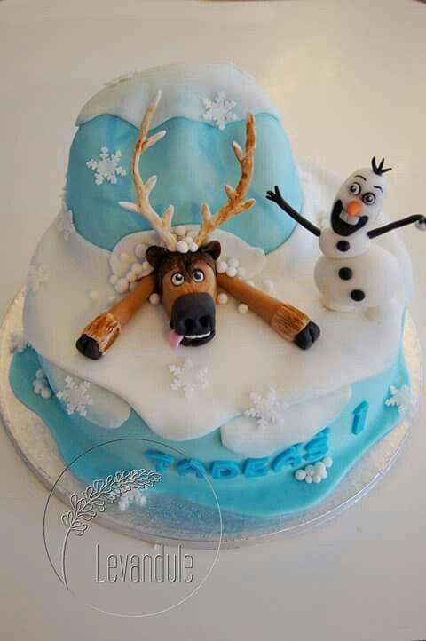 Dort Ledové království, Sven a Olaf, Frozen Cake