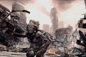 Rage (video game), Mutant, Apocalyptic, Video games, Attack Wallpaper