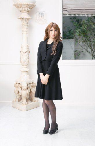 Amazon.co.jp: (マーガレット)marguerite m424 ブラックフォーマル レディース アンサンブル 礼服: 服&ファッション小物