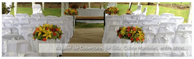 Nina Comercial - Alquiler de Cobertores de Sillas, Cubre Manteles...