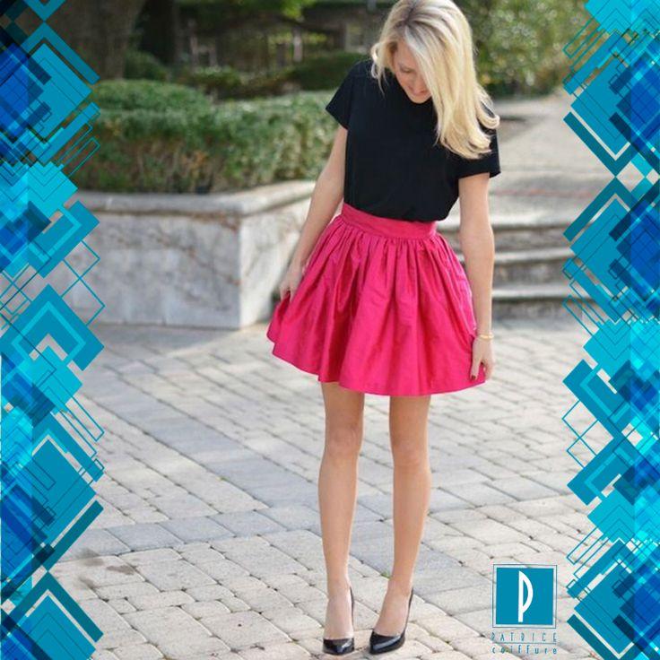#PatriceTrends  Cortas o largas, como prefieras… pero las faldas del 2014 son amplias y holgadas, acompañadas de un blusa sencilla