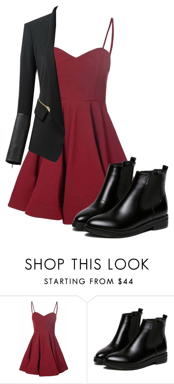 """""""Untitled #105"""" by marievampire on Polyvore featuring Glamorous and WithChic"""