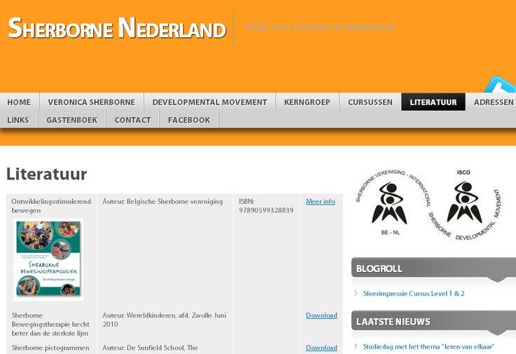Wordpress website voor Sherborne Nederland | www.sherborne.nl