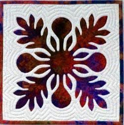 Hawaiian Quilting 101 - Ulu (Breadfruit) pattern from Quilt University.com