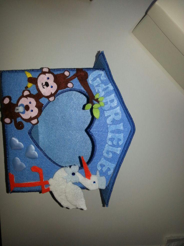 Porta confetti casetta