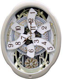 Motion Musical Clock. Rhythm Clocks Marvelous - Model #4MH842WD18