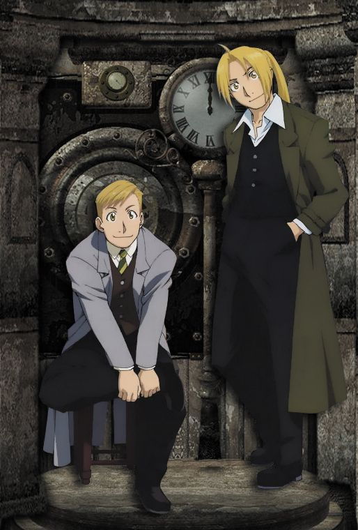 Alphonse and Edward by Narusailor.deviantart.com on @deviantART