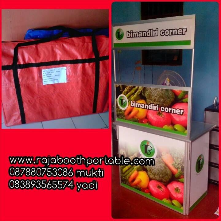 booth portable sangat cocok untuk jualan dan promosi