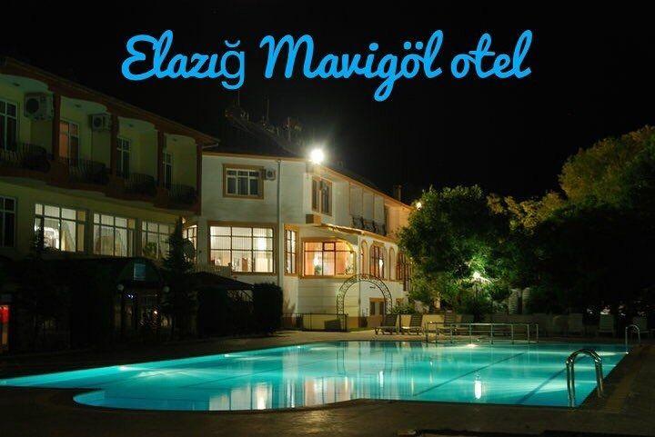 Elazığ Mavigöl otel  Sivrice /Elazığ
