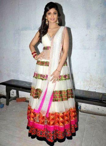 Shilpa White Anarkali | Veeshack Shop