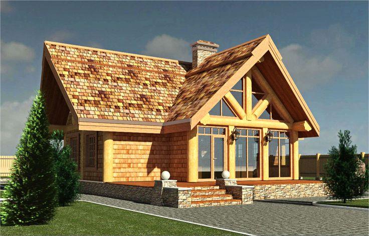 Проекты и планы рубленных и деревянных домов архитектора Касаткина. Деревянные дома из бревна и лафета в русском стиле,норвежские дома из лафета,коттеджи в стиле шале и эксклюзивные деревянные дома.
