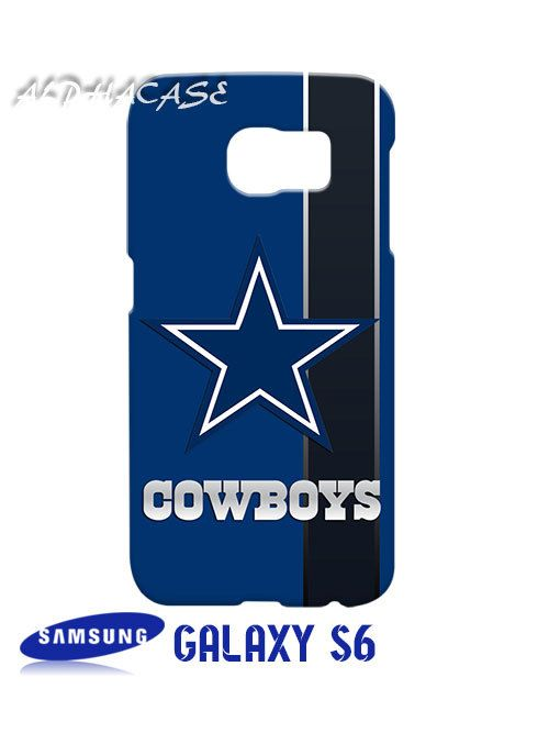 Dallas Cowboys Inspired 2 Samsung Galaxy S6 Case Hardshell