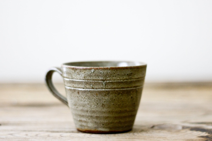 Vintage Pottery Mug From Jugtown Pottery Of Seagrove Nc