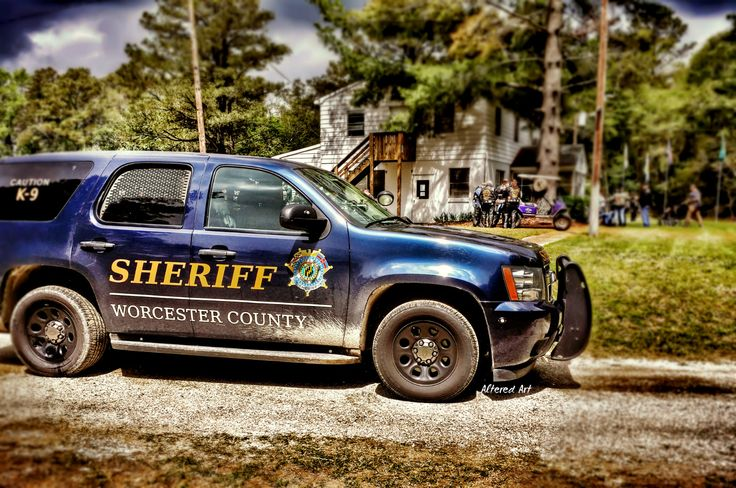 Chevy tahoe sheriffs department worcestercountymd